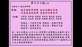 黄大仙灵签 第66签:上吉 羲之会群贤